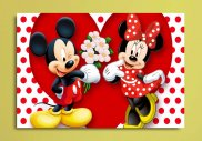 Tablou canvas -  Mickey si Minnie