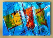 Tablou canvas -  Pictura abstracta